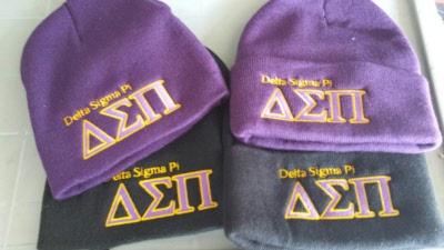 35760c33be3 knit hats. Delta Sigma Pi ...