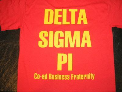 Delta sigma pi clothing store